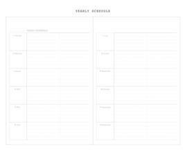 Livework Agenda Diary datumloos