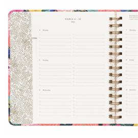 17-maanden covered Planner 2019 Rifle Paper Co Juliet Rose