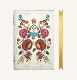 Flower Wow Lined Notebook - A5, Kalocsa Marigolds