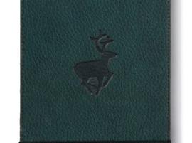 Wildlife Green Deer dotted notebook reporter-formaat A6+