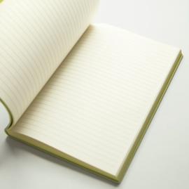 Signature Inspiro Lined Notebook - A5, Grey