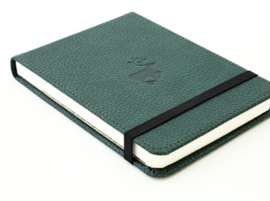 Wildlife Green Deer dotted notebook reporter-formaat A6+