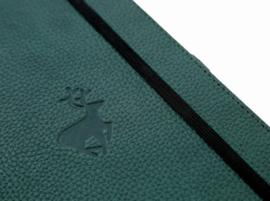 Wildlife Green Deer dotted notebook A5+