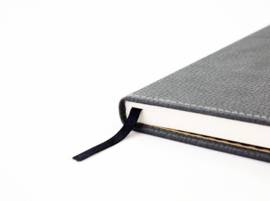 Wildlife Grey Elephant dotted notebook A5+