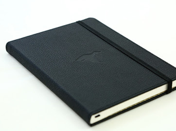 Wildlife Black Duck dotted notebook A5+