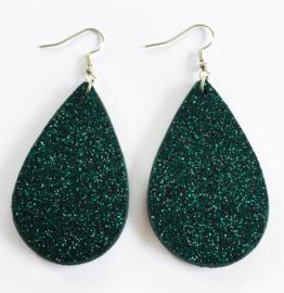 Glitteroorbellen groen