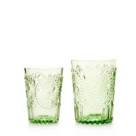 Fleur de lys glas L, groen