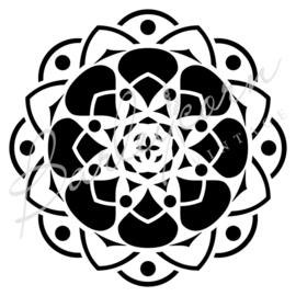 Geometrische mandala (28 cm)