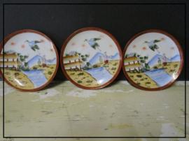 Chinese theekopjes aardewerk