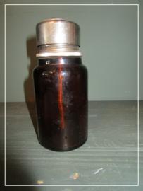 Oud apothekersflesje strooibus zonder opdruk (14 cm)
