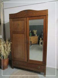 Demontabele Art Deco spiegelkast
