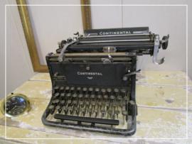 Antieke Continental schrijfmachine