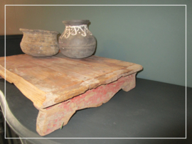 Originele oude bajot plank uit India