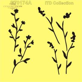 Lavendel, bloemen, takjes-1