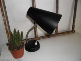 Vintage bureaulamp met flexibele arm