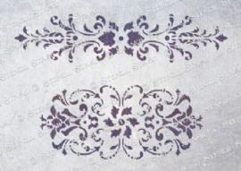 Damask panels