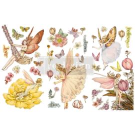 Fairy flowers transfer