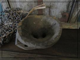 Houten seeder kaarsenstandaard