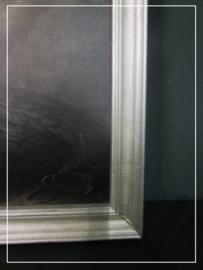 Ingelijst schilderspaneel Pauw