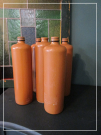 Brocante jeneverkruik 1 liter