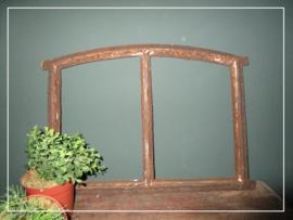Klein brocante getoogd stalraam (42,5 x 30 cm) (st060)