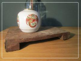 Origineel oud bajot plankje uit India serveerplank landelijk