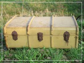 Grote houten diligence koffer (k014)