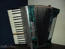 Antieke Rauner Arolia accordeon +/- 100 jaar