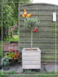 Vierkante plantenbak bloembak hout