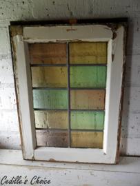 Glas in lood soft tone pastel (42,5 x 59 cm) (gl035)