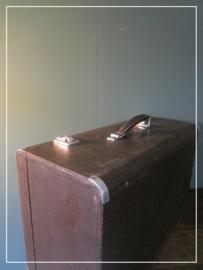 Brocante houten kist (k001)
