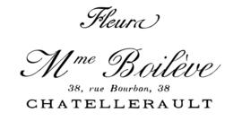 Frans reclame sjabloon (A5)