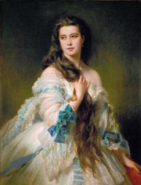 Canvas poster in frame Portret Van Madame Rimsky Korsakov
