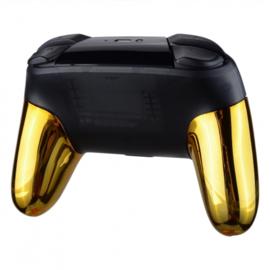 Chrome Gold - Nintendo Switch Pro Grip Controller Shells
