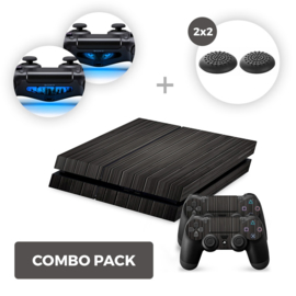 Wood Black Skins Bundle - PS4 Combo Packs