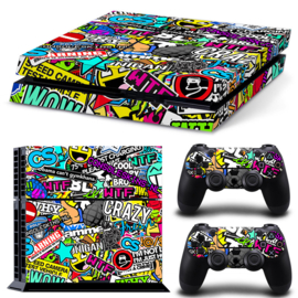 Stickerbomb - PS4 Console Skins