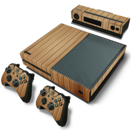 Wood Brown - Xbox One Console Skins