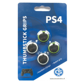 Combo Pack Green & White Cirkel - PS4 Thumb Grips