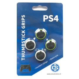 Voordeelverpakking Groene & Witte Cirkel - PS4 Thumb Grips
