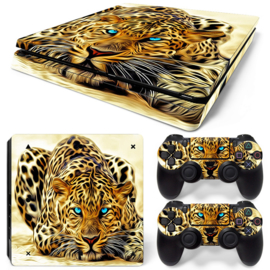 Leopard - PS4 Slim Console Skins
