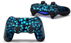 Blue Boxes - PS4 Controller Skins
