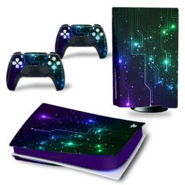 PS5 Console Skins - CPU Mix