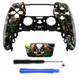 PS5 Controller Behuizing Shell - Halloween - Front Shell