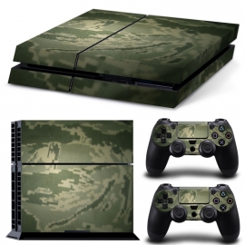 Digital Camouflage Green - PS4 Console Skins