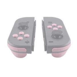 NS Buttons - Lichtroze Soft Touch - Joy Con Controller Buttons