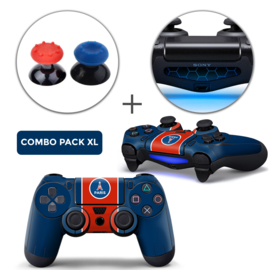 Parijs Skins Grips XL Bundel - PS4 Controller XL Combo Packs