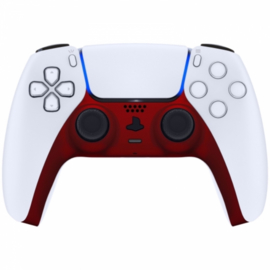 Sony PS5 DualSense Draadloze Controller - Rood Soft Touch Cover Custom
