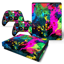 Color Splash - Xbox One X Console Skins