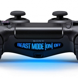 Beast Mode [On] Off - PS4 Lightbar Skins