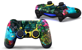 Color Splash - PS4 Controller Skins